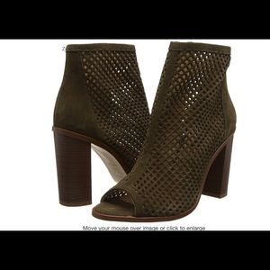 New Look Sassy olive Green Net Booties